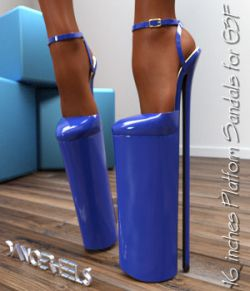 DANGERHEELS - 16 inches Platform Sandals for G3F