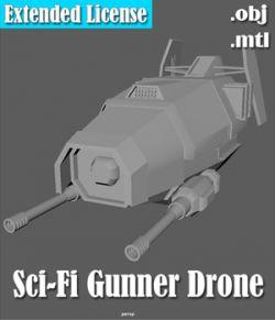 Gunner Drone - Extended License
