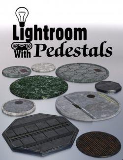 Lightroom with Pedestals
