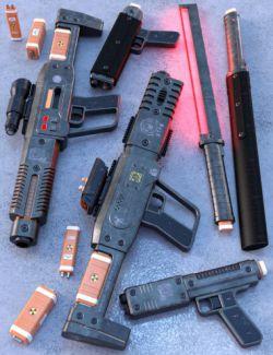 VIPER-420 Energy Rifle Set