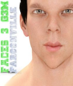 Faces 3 for Genesis 3 Male and Michael 7
