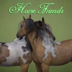 Friends and Family- Horse Friends