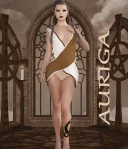 Auriga Dress for Genesis 3 Female/V7