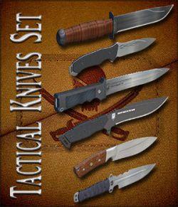 Tactical Knives Set