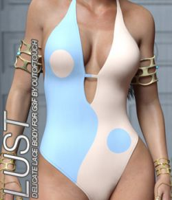 LUST- Delicate Lace Body for Genesis 3 Female(s)