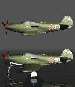 BELL P39 AIRACOBRA URSS- Extended License