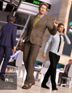 Trading Floor Outfit for Genesis 3 Male(s)