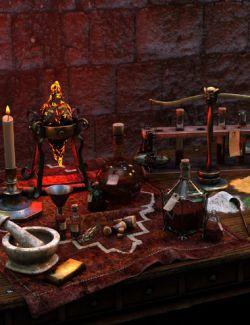 Muelsfell Alchemist Table