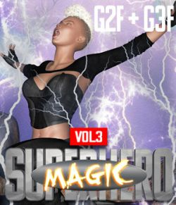 SuperHero Magic for G2F & G3F Volume 3