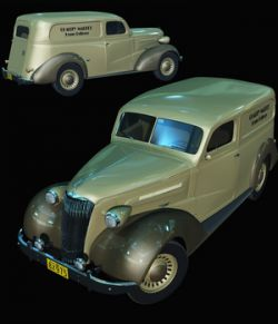 CHEVROLET 1937 DELIVERY - Extended License