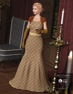 Evening Gown for Genesis 3 Female(s)