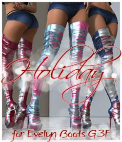 Holiday Evelyn High Boots G3F