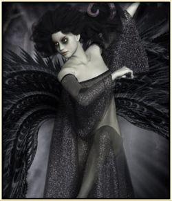 Dynamic Angel Gown