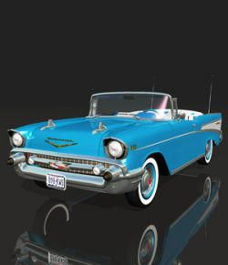 CHEVROLET BEL AIR 1957- Extended License