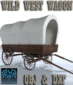 Wild West Wagon - Extended License
