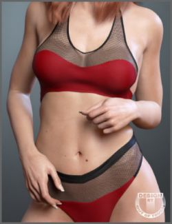 Georgia Lingerie for Genesis 3 Female(s)
