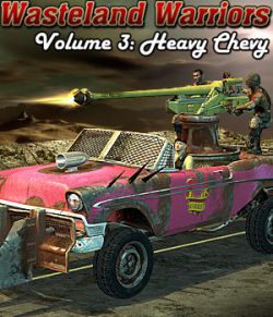 Wasteland Warriors 3: Heavy Chevy