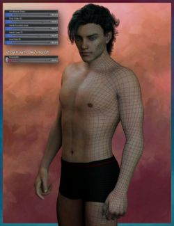 Genesis 3 Male Face & Body Morph Resource Kit