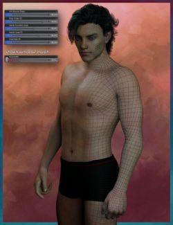 Genesis 3 Male Face & Body Morph Resource Kit