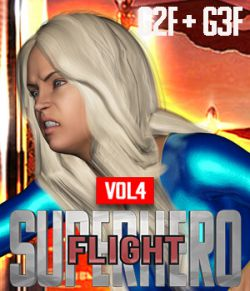 SuperHero Flight for G2F & G3F Volume 4