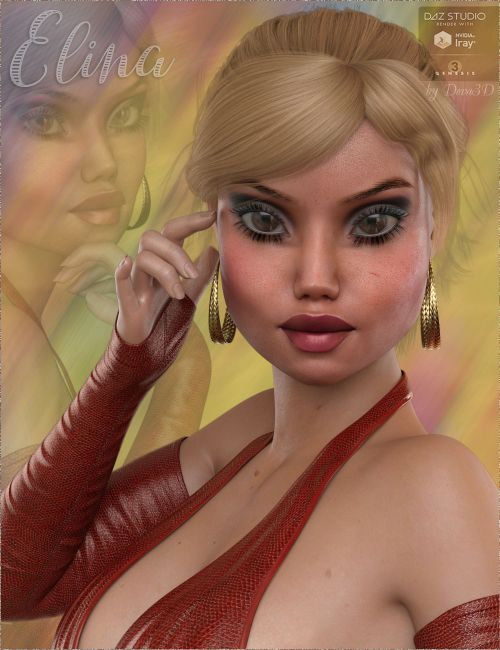 TDT-Elina for Genesis 3 Female
