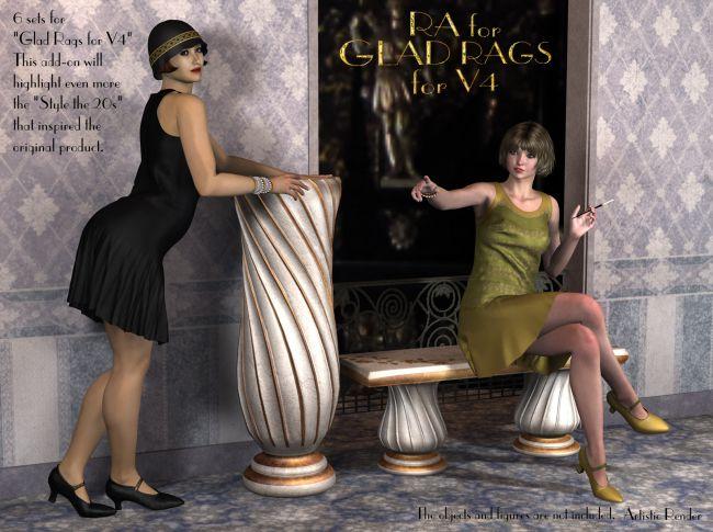 RA for Glad Rags for V4