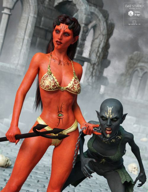 Azriel for Anneka She Devil, Demon and Genesis 3 Female(s)