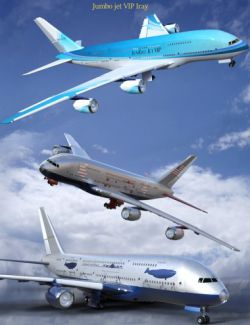 Jumbo Jet VIP Expanded for Iray