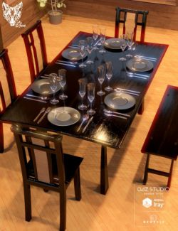 Japanese Style Dining Sets- Mount Fuji