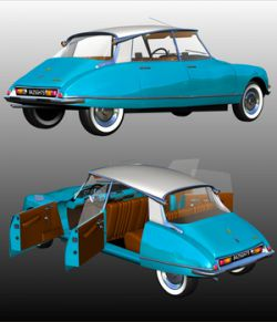CITROEN DS21 BERLINE - Extended License