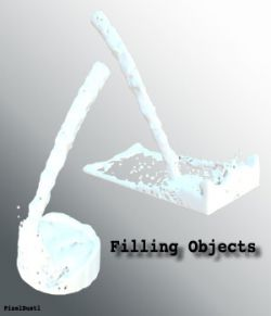 Filling Objects - Fluid Simulation