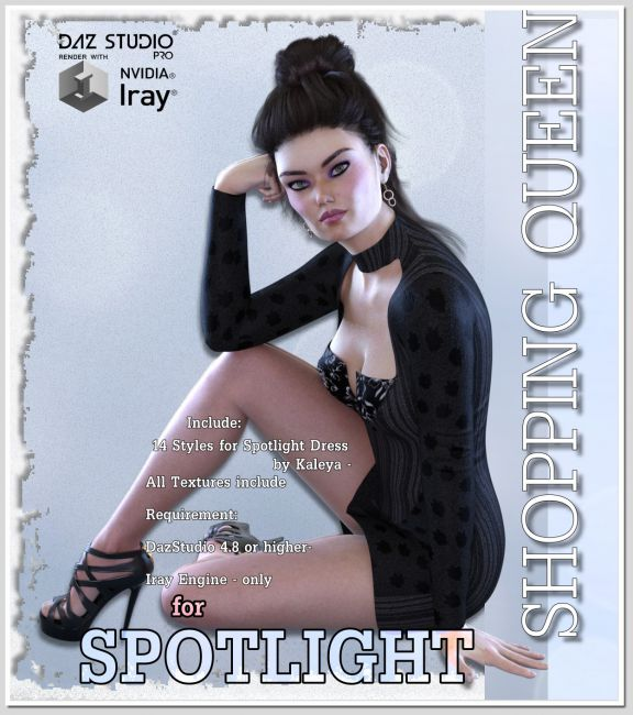 Shopping Queen - for SPOTLIGHT DRESS