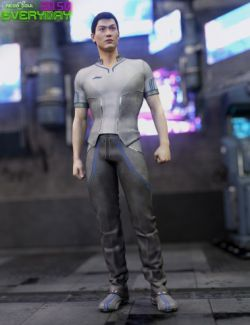20.50 Cyberpunk Everyday Clothes for Genesis 3 Male(s)