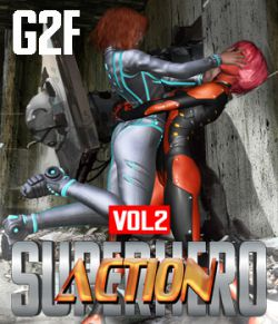 SuperHero Action for G2F Volume 2