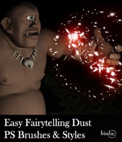 Easy Fairytelling Dust PS Brushes and Styles