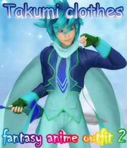 fantasy-anime-outfit 2_ Takumi clothes_ for G3