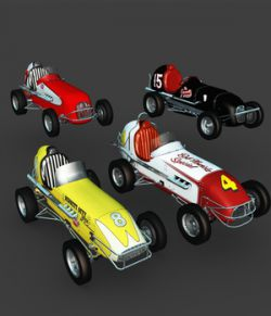 MIDGET RACE CAR BUNDLE-EXTENDED LICENSE