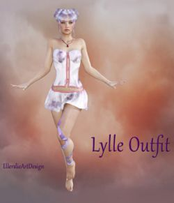 Lylle Outfit for Genesis 3 Female and V7