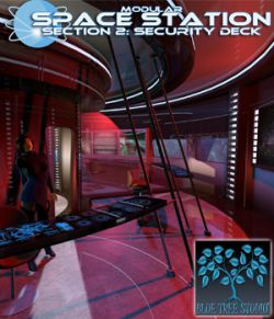 Modular Space Station 2: Security Deck