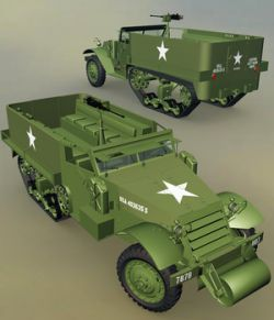 M9 A1 HALF-TRACK-EXTENDED LICENSE