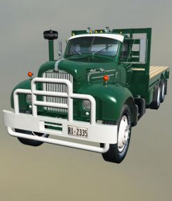 MACK B61 STAKE BED-EXTENDED LICENSE