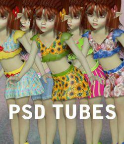 PSD TUBES Spring Fairy