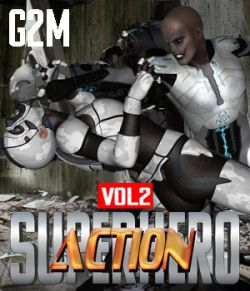 SuperHero Action for G2M Volume 2