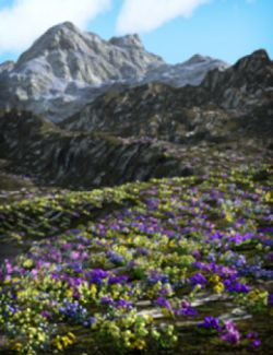 Scattered Plants: Spring Flowers