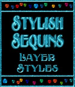 Stylish Sequins Layer Styles
