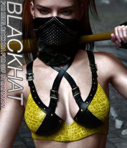 BLACKHAT- CruX II- Rebel Rock Bra