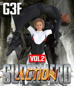 SuperHero Action for G3F Volume 2