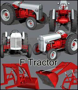 F Tractor (poser, obj)