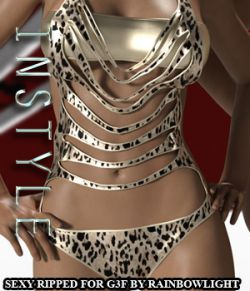 InStyle - Sexy Ripped for Genesis 3 Female(s)