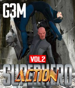 SuperHero Action for G3M Volume 2